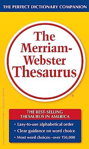 9780877798507: The Merriam-Webster Thesaurus