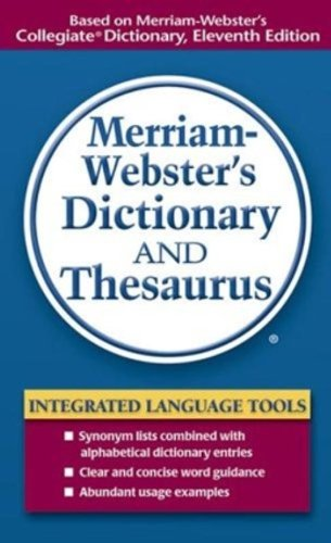 9780877798514: Merriam-Webster's Dictionary and Thesaurus