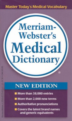 9780877798538: Merriam-Webster's Medical Dictionary