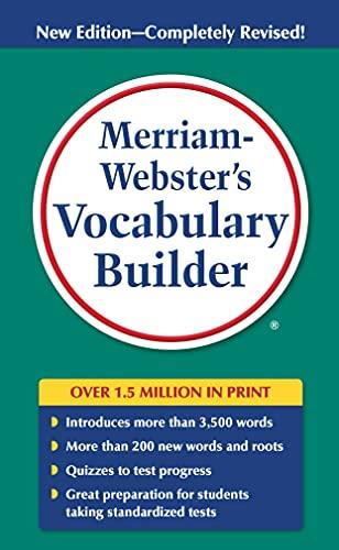 9780877798552: Merriam-Webster's Vocabulary Builder
