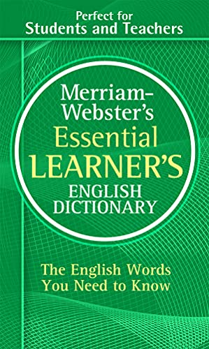 9780877798569: Merriam-Webster's Essential Learner's English Dictionary