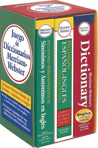 9780877798903: Juego De Diccionarios Merriam-Webster (Spanish Edition)