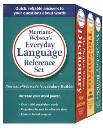 9780877798965: Merriam-Webster's Everyday Language Reference Set
