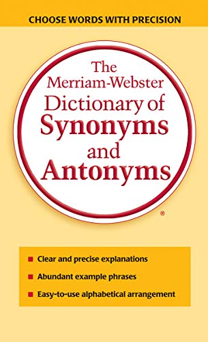 9780877799061: The Merriam-Webster Dictionary of Synonyms and Antonyms