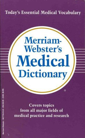 9780877799146: Merriam-Webster's Medical Dictionary