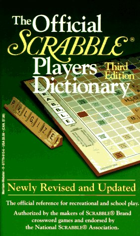 9780877799153: The Official Scrabble Players Dictionary (Third Edition)