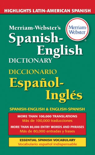 9780877799160: Merriam-Webster's Spanish-English Dictionary