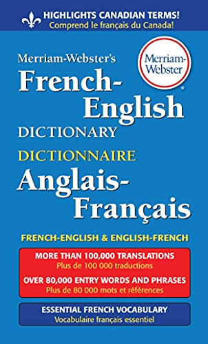 9780877799177: Merriam-Webster's French-English Dictionary, newest paperback edition (English and French Edition)