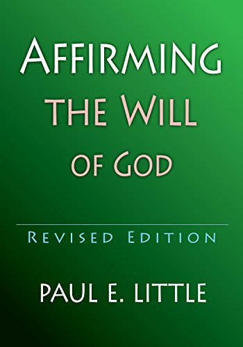 9780877840527: Affirming the Will of God (IVP Booklets IVP Booklets)