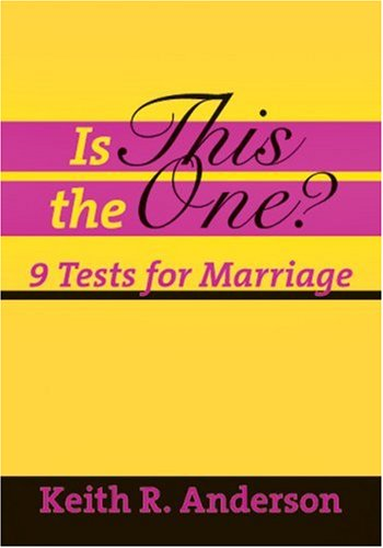 9780877840992: Is This the One?: 9 Tests for Marriage