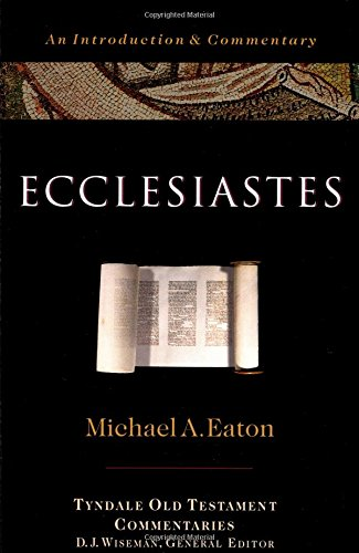 9780877842675: Ecclesiastes: An Introduction and Commentary (Tyndale Old Testament Commentaries)