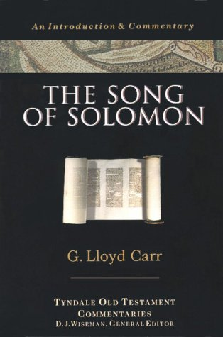 9780877842682: The Song of Solomon (Tyndale Old Testament Commentaries)