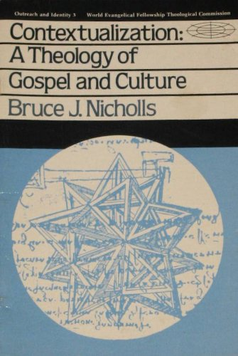 9780877844563 Contextualization Theology Of Gospel And Culture