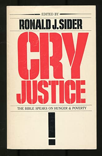 9780877844952: Cry Justice: The Bible on Hunger and Poverty