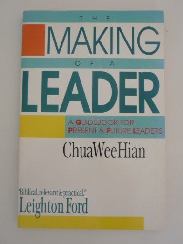 9780877848271: The Making of a Leader: A Guidebook for Present & Future Leaders