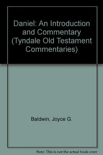 Daniel: An Introduction and Commentary (Tyndale Old: Baldwin, Joyce G.