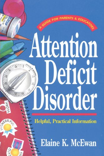 9780877880561: Attention Deficit Disorder (Guides for Parents and Educators Series)