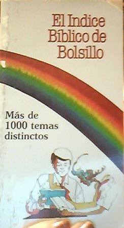 9780877882190: El Indice Biblico Bolsillo