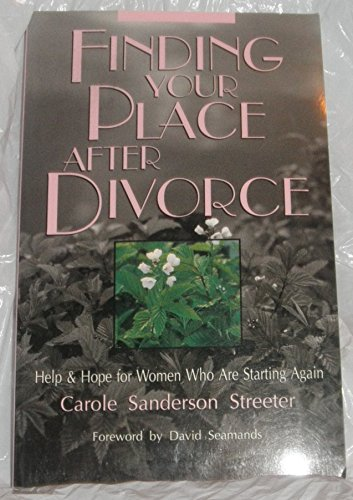9780877882695: Finding Your Place After Divorce: Help & Hope for Women Who Are Starting Again