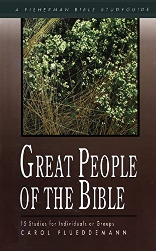 9780877883333: Great People of the Bible: 15 Studies for Individuals or Groups (Fisherman Bible Studyguides)
