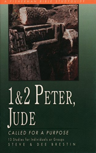 9780877887034: 1 & 2 Peter, Jude: Called for a Purpose (Fisherman Bible Studyguide Series)