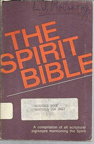 9780877930624: The Spirit Bible