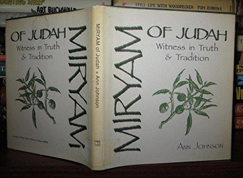 9780877933540: Miryam of Judah