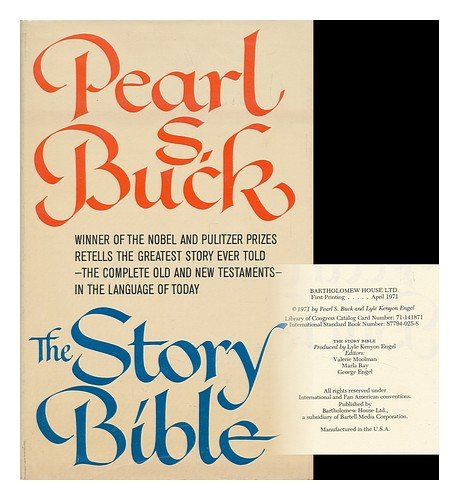 The Story Bible: Buck, Pearl S