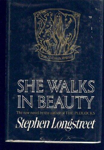 9780877950042: She Walks in Beauty, a Novel.