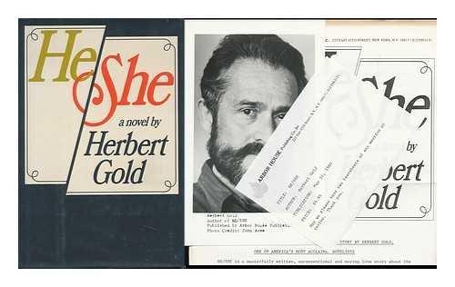 He/She (SIGNED): Gold, Herbert