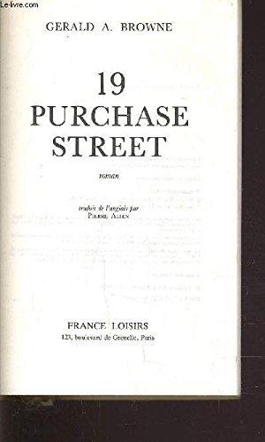 9780877954132: 19 Purchase Street