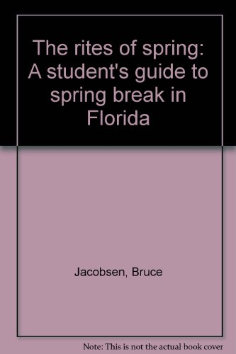 Rites (The) of Spring: Jacobsen, Bruce &