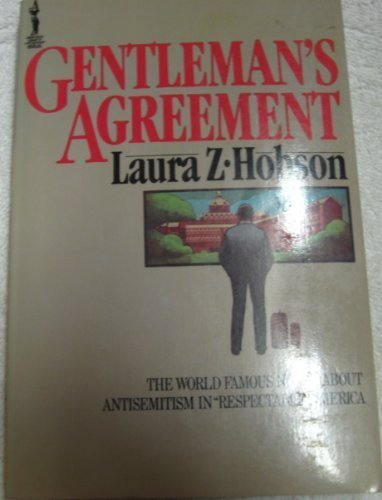 9780877955528: Gentleman's Agreement (Arbor House library of contemporary Americana)