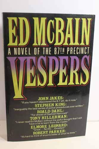 Vespers: A Novel of the 87th Precinct (0877959870) by Ed McBain