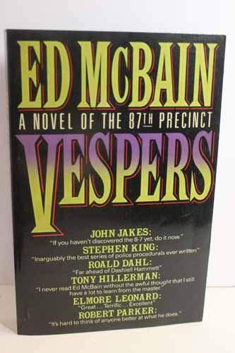 9780877959878: Vespers: A Novel of the 87th Precinct