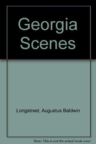 9780877970163: Georgia Scenes