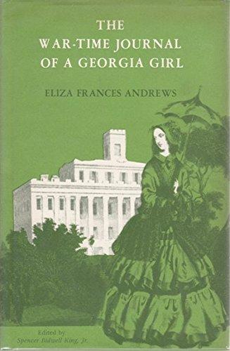 9780877970330: The War-Time Journal of a Georgia Girl, 1864-1865