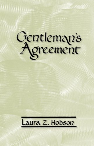 9780877972105: Gentleman's Agreement: The World-Famous Novel About Antisemitism in