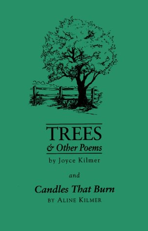 9780877972679: Trees & Other Poems: Candles That Burn