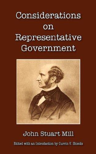 9780877973669: Considerations on Representative Government