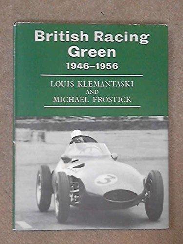 9780877990062: BRITISH RACING GREEN
