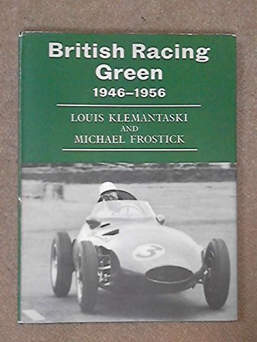 9780877990062: BRITISH RACING GREEN