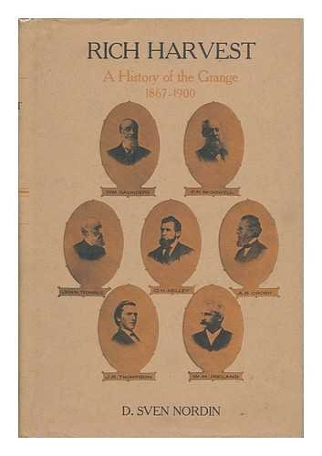 9780878050574: Rich Harvest: A History of the Grange, 1867-1900