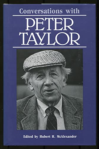 9780878053247: Conversations with Peter Taylor (Literary Conversations)