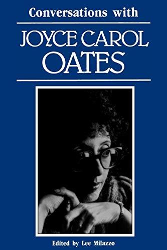 9780878054121: Conversations with Joyce Carol Oates (Literary Conversations)