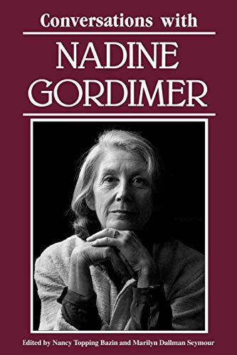 9780878054459: Conversations with Nadine Gordimer (Literary Conversations Series)