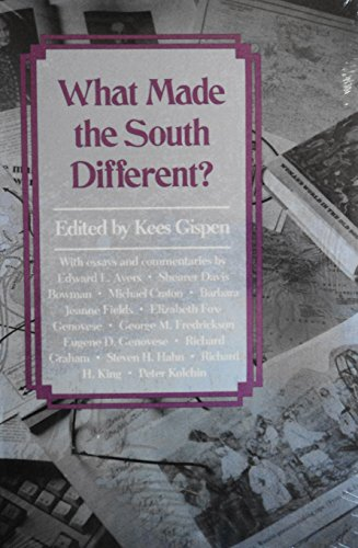 9780878054558: What Made the South Different?: Essays and Comments (Chancellor's Symposium on Southern History Series)