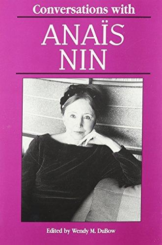 9780878057191: Conversations with Anaïs Nin (Literary Conversations)