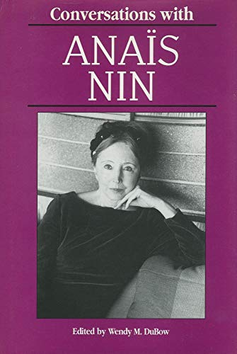 9780878057207: Conversations with Anaïs Nin (Literary Conversations Series)