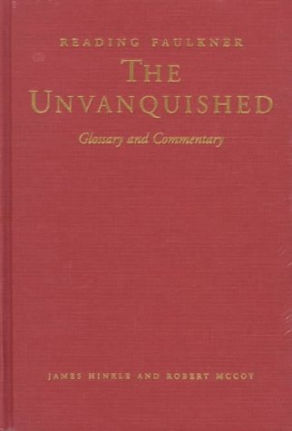 9780878057849: Reading Faulkner: The Unvanquished